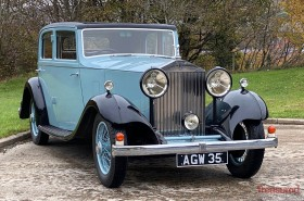 1933 Rolls-Royce 20/25 Sports Saloon By Thrupp & Maberly Classic Cars for sale