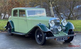 1934 Bentley 3 1/2 Litre Hooper Sports Saloon Classic Cars for sale
