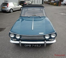 1970 Triumph Vitesse Mk 2 Classic Cars for sale