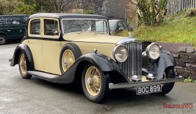 1935 Bentley 3 1/2 Litre Hooper Sports Saloon Classic Cars for sale