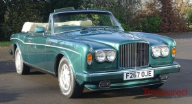 1989 Bentley Continental Classic Cars for sale