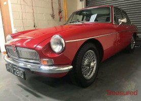 1968 MG B GT Classic Cars for sale