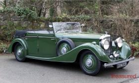 1937 Bentley 4¼ Litre Vanden Plas All-weather 4 Door Tourer Classic Cars for sale