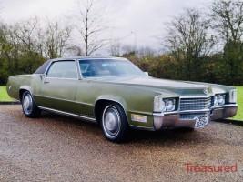 1970 Cadillac Eldorado Classic Cars for sale