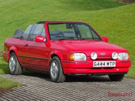 1990 Ford XR3i Convertable Classic Cars for sale