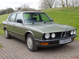 1986 BMW 520i Classic Cars for sale