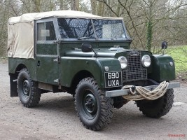 1957 Land Rover 88 Classic Cars for sale