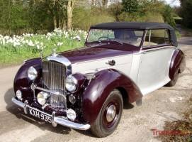 1949 Bentley Mk VI Park Ward Drophead Classic Cars for sale