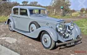 1936 Bentley 4.25 Litre Vanden Plas Pillarless Saloon Classic Cars for sale