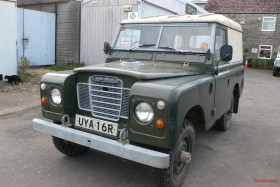 1977 Land Rover Series III 88 Hardtop Classic Cars for sale