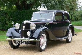1935 Riley 9 Merlin Saloon Classic Cars for sale
