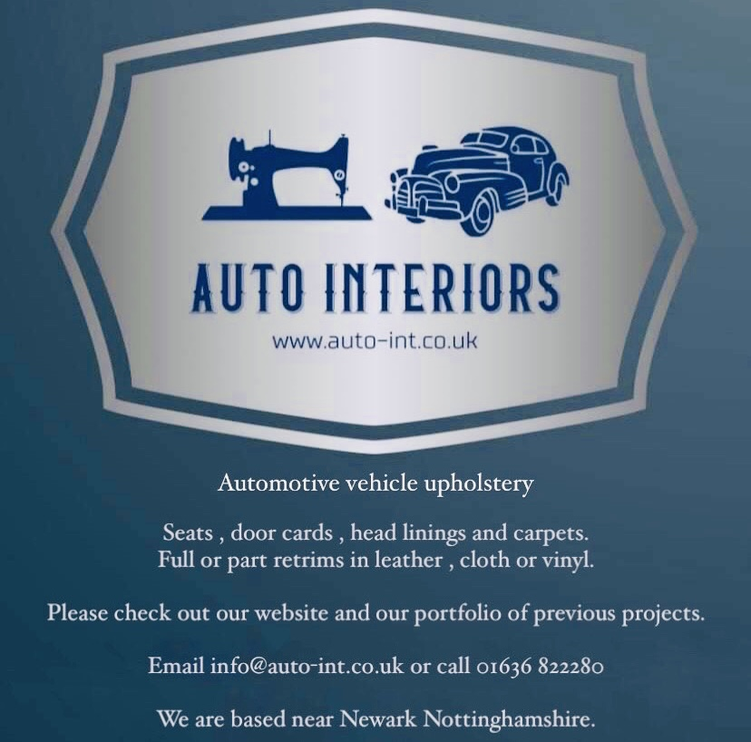 Auto Interiors - Automotive vehicle Upholstery leather interiors seats door cards headlining and carpets