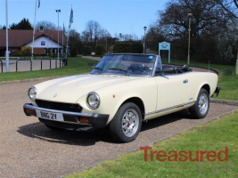 1982 Fiat 124 Sport Spider Europa Classic Cars for sale
