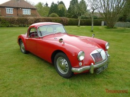 1957 MG A Coupe Classic Cars for sale
