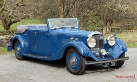 1936 Bentley 4 1/4ltr 4dr All Weather Tourer by Steve Penny Classic Cars for sale