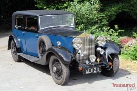 1933 Rolls-Royce 20/25 Park Ward Saloon Classic Cars for sale