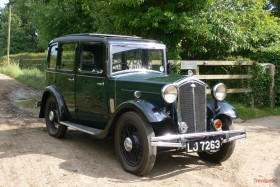 1933 Wolseley Hornet Six Light Saloon Classic Cars for sale