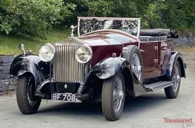 1929 Rolls-Royce Phantom I Four Door Open Tourer Classic Cars for sale