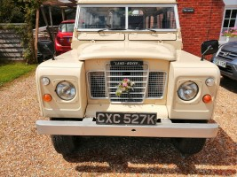 1972 Land Rover Series III 88 Hardtop Classic Cars for sale